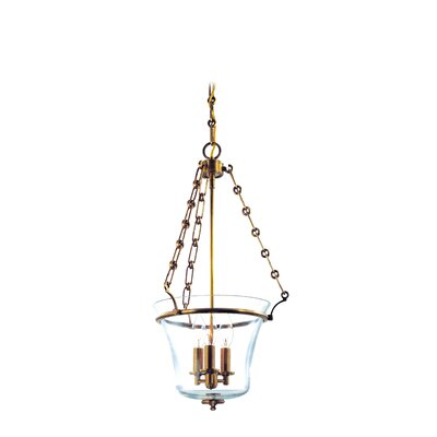 Estelle 3-Light Pendant Finish: Aged Brass