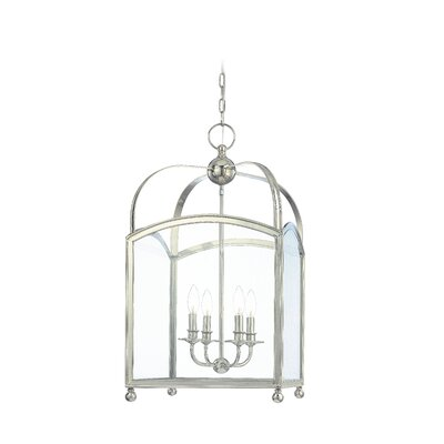Natalia 4-Light Foyer Pendant Finish: Polished Nickel