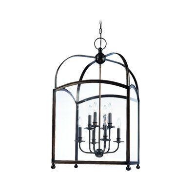 Natalia 8-Light Foyer Pendant Finish: Distressed Bronze