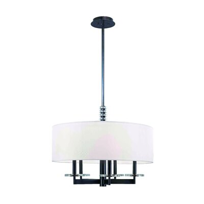 Patricia 5-Light Drum Pendant Finish: Old Bronze