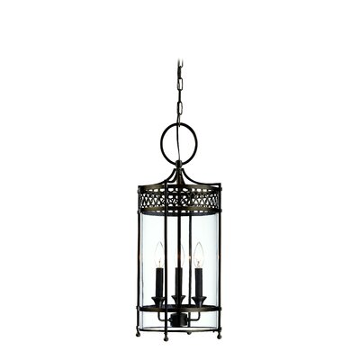 Emelia 3-Light Mini Foyer Pendant Finish: Distressed Bronze