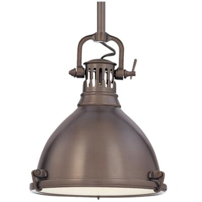 Argana 1-Light Pendant Finish: Historic Bronze