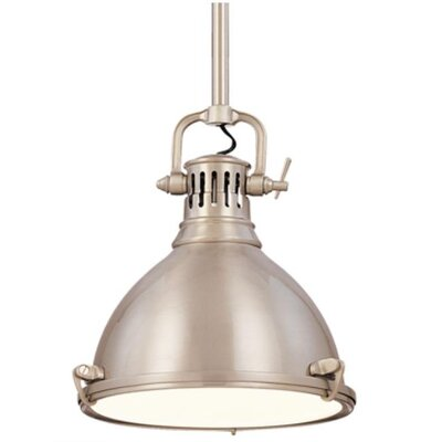 Argana 1-Light Pendant Finish: Satin Nickel