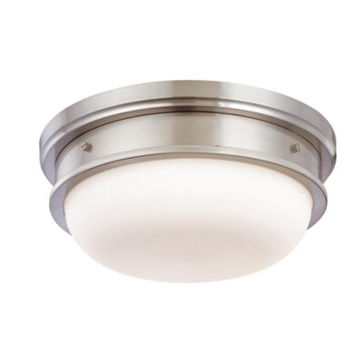 Elisa 3-Light Flush Mount Finish: Satin Nickel