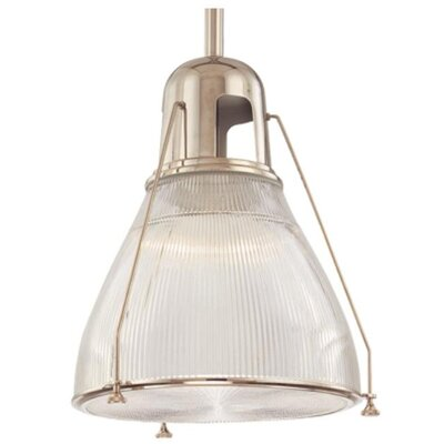 Haverhill 1-Light Mini Pendant Finish: Polished Nickel 7308-PN