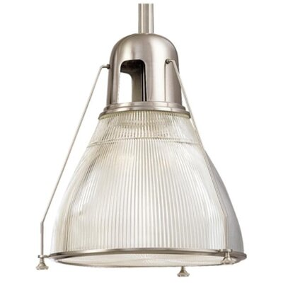 Margo 1-Light Mini Pendant Finish: Satin Nickel
