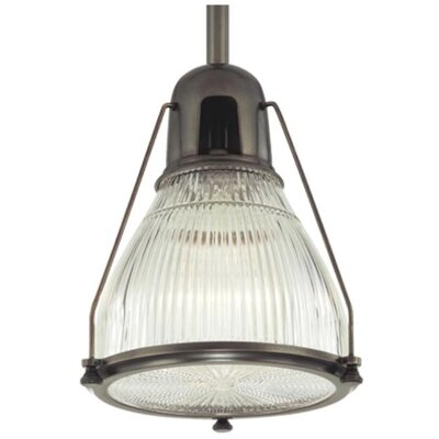 Haverhill 1-Light Pendant Finish: Old Bronze