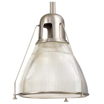 Margo 1-Light Pendant Finish: Satin Nickel
