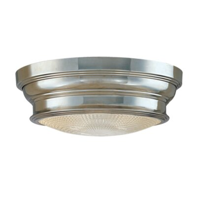 Ellyn 1-Light Flush Mount Finish: Polished Nickel