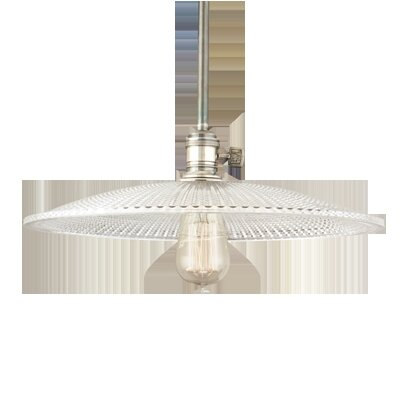 Diogo 1-Light Pendant Finish: Historic Nickel