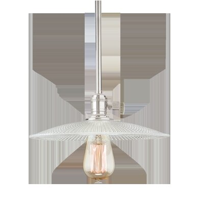 Diogo 1-Light Pendant Finish: Polished Nickel
