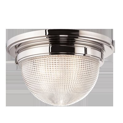 Hesson 3-Light Flush Mount Finish: Polished Nickel