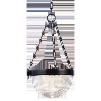 Hesson 3-Light Inverted Pendant Finish: Old Bronze