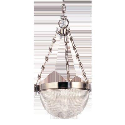 Hesson 3-Light Inverted Pendant Finish: Polished Nickel