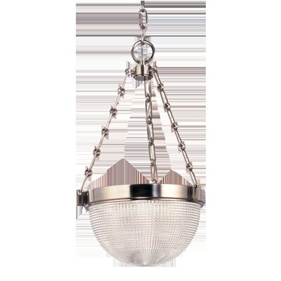 Hesson 3-Light Inverted Pendant Finish: Satin Nickel