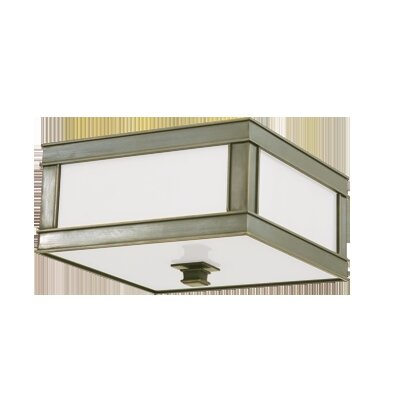 Destanee Flush Mount Color: Historic Nickel