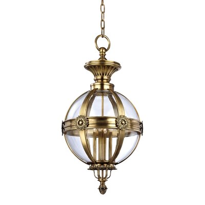 Marietta 4-Light Pendant Finish: Aged Brass