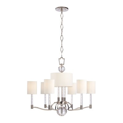 Marion 9-Light Shaded Chandelier
