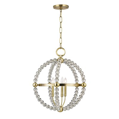 Lainey 3-Light Pendant Finish: Aged Brass