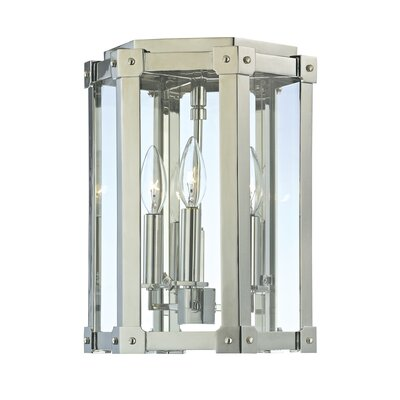 Roxbury 3-Light Semi Flush Mount Finish: Polished Nickel