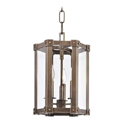 Roxbury 3-Light Pendant Finish: Distressed Bronze
