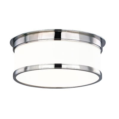 Eugenia Flush Mount Size / Finish: 4.75 x 9.25 / Polished Chrome