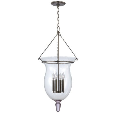 Ulster 4-Light Chandelier Finish: Historic Nickel