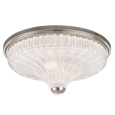 Keana 2-Light Flush Mount Finish: Polished Nickel