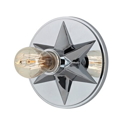 Merseles 1-Light Semi Flush Mount Finish: Polished Chrome