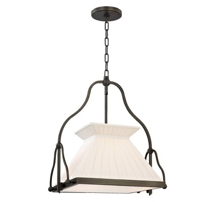 Clifton 1-Light Foyer Chandelier Finish: Old Bronze