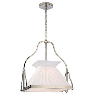 Clifton 1-Light Foyer Chandelier Finish: Polished Nickel