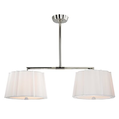 Menik 6-Light Island Light Finish: Polished Nickel