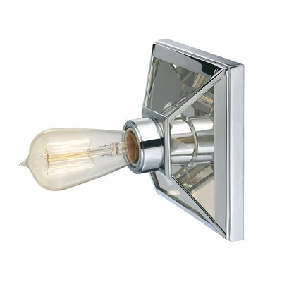 Thurston 1-Light Semi Flush Mount Finish: Polished Chrome