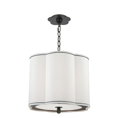 Sweeny 3-Light Drum Pendant Finish: Old Bronze