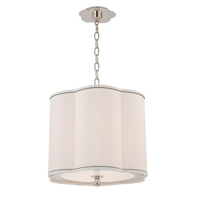 Sweeny 3-Light Drum Pendant Finish: Polished Nickel