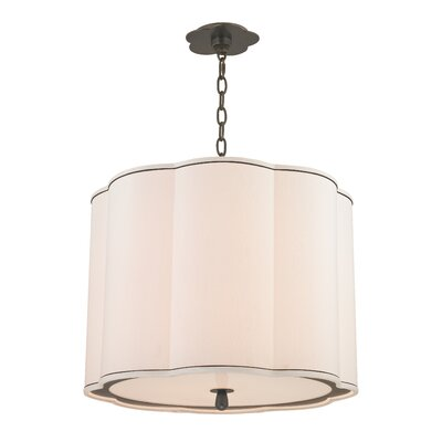 Sweeny 4-Light Drum Pendant Finish: Old Bronze