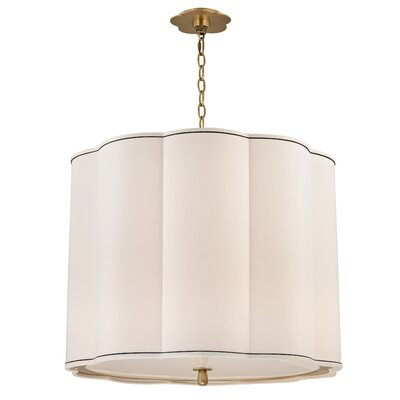 Sweeny 5-Light Drum Chandelier Finish: Aged Brass