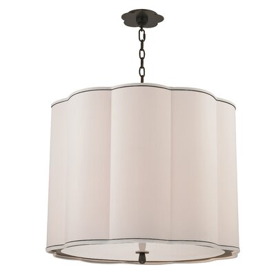 Sweeny 5-Light Drum Chandelier Finish: Old Bronze