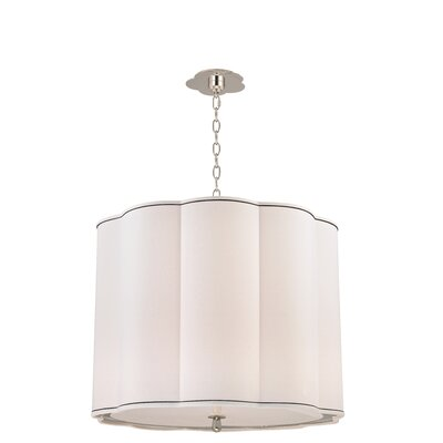 Sweeny 5-Light Drum Chandelier Finish: Polished Nickel