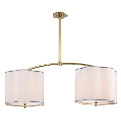 Sweeny Kitchen 4-Light Kitchen Island Pendant Finish: Aged Brass