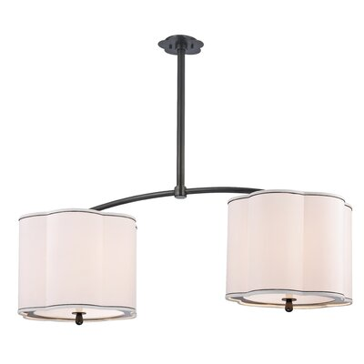 Sweeny Kitchen 4-Light Kitchen Island Pendant Finish: Old Bronze