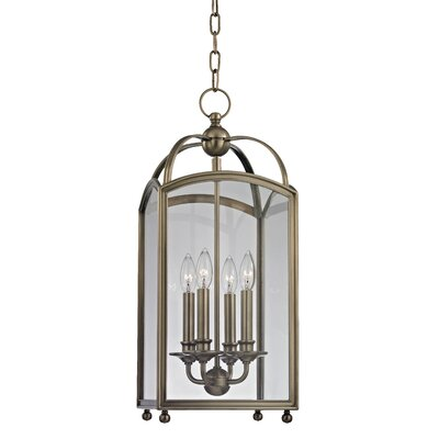 Natalia 4-Light Foyer Pendant Finish: Historic Nickel