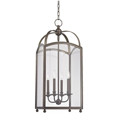 Natalia 4-Light Foyer Pendant Finish: Distressed Bronze