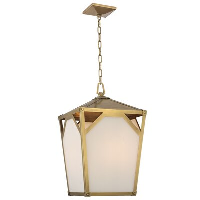 Carlisle 4-Light Foyer Pendant Finish: Aged Brass