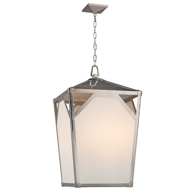 Carlisle 8-Light Foyer Chandelier Finish: Polished Nickel
