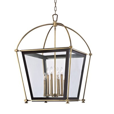 Edwards 8-Light Foyer Pendant Finish: Polished Nickel