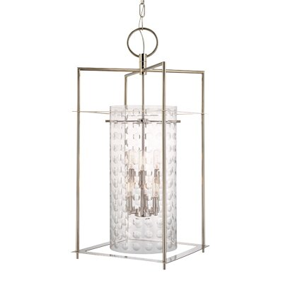 Hassan 6-Light Foyer Pendant Finish: Old Bronze