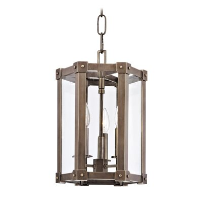 Roxbury 3-Light Pendant Finish: Aged Brass
