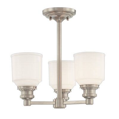 Carnahan 3-Light Pendant Finish: Old Bronze