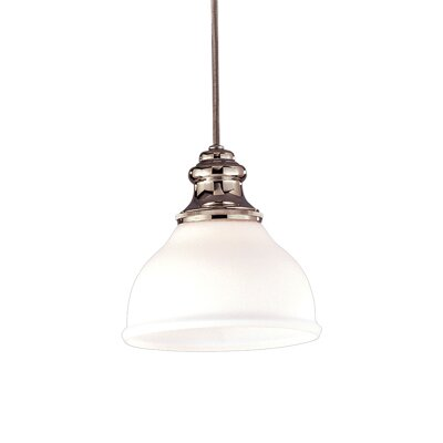 Ennis 1-Light Mini Pendant Finish: Old Bronze